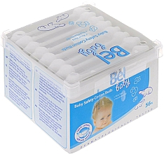 Fragrances, Perfumes, Cosmetics Kids Cotton Buds, 56 pcs - Bel Baby Safety Cotton Buds