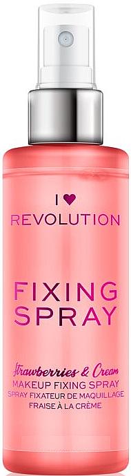 Makeup Fixing Spray - I Heart Revolution Fixing Spray Strawberries & Cream