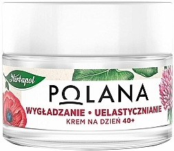 "Fragrances, Perfumes, Cosmetics Day Cream 40+ ""Smoothing & Elasticity"" - Polana"
