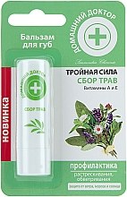 "Fragrances, Perfumes, Cosmetics Lip Balm ""Triple Power"" Herb Gathers - Home Doctor"