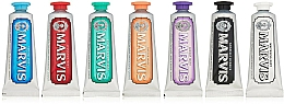 Fragrances, Perfumes, Cosmetics Toothpaste Set - Marvis Toothpaste Flavor Collection Gift Set (t/paste/7x25ml)