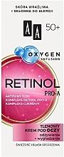 Fragrances, Perfumes, Cosmetics Oxygen Infusion Lash Cream 50+ - AA Oxygen Infusion Retinol Pro-A Eye Cream
