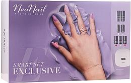 Fragrances, Perfumes, Cosmetics Manicure Set - NeoNail Smart Set Exclusive (led/lamp + base/7.2ml + top/7.2ml + nail/polish/5x3ml + nail/cleaner/50ml + remover/50ml + n/swab + nail/file/2pcs)