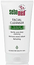 Fragrances, Perfumes, Cosmetics Oily & Combination Skin Cleanser - Sebamed Facial Cleanser For Oily And Combination Skin