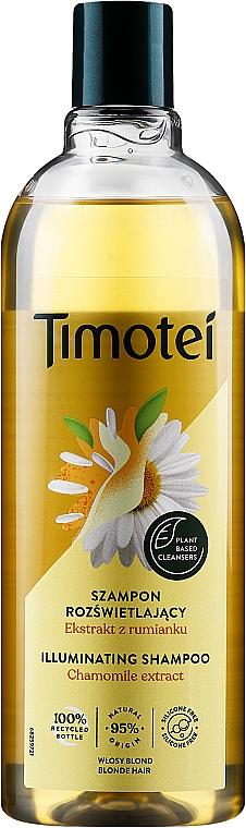 "Shampoo-Conditioner ""Jericho Rose & Chamomile"" - Timotei Golden Highlights Shampoo"