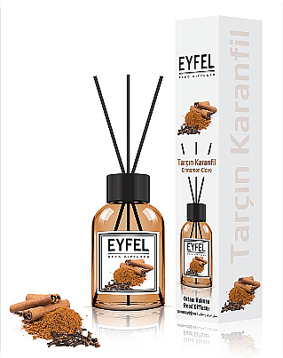 """Reed Diffuser """"Cinnamon and Cloves"""" - Eyfel Perfume Reed Diffuser Cinnamon Clove"""