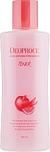 Fragrances, Perfumes, Cosmetics Anti-Aging Pomegranate & Hyaluronic Acid Toner - Deoproce Hydro Antiaging Pomegranate Toner