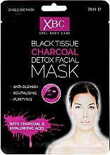 Fragrances, Perfumes, Cosmetics Charcoal Detox Face Mask - Xpel Marketing Ltd Body Care Black Tissue Charcoal Detox Facial Face Mask