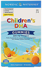 "Fragrances, Perfumes, Cosmetics Kids Dietary Supplement 600 mg ""Omega-3"" - Nordic Naturals Children's DHA Gummies"