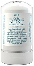 Fragrances, Perfumes, Cosmetics Natural Deodorant - Avebio Alunit Natural Deodorant