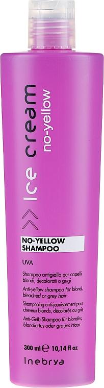 Bleached Hair Shampoo - Inebrya Ice Cream No-Yellow Shampoo