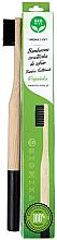 Fragrances, Perfumes, Cosmetics Soft Bamboo Toothbrush, black - Biomika Natural Bamboo Toothbrush