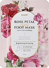 Fragrances, Perfumes, Cosmetics Firming Foot Mask Socks - Petitfee&Koelf Rose Petal Satin Foot Mask