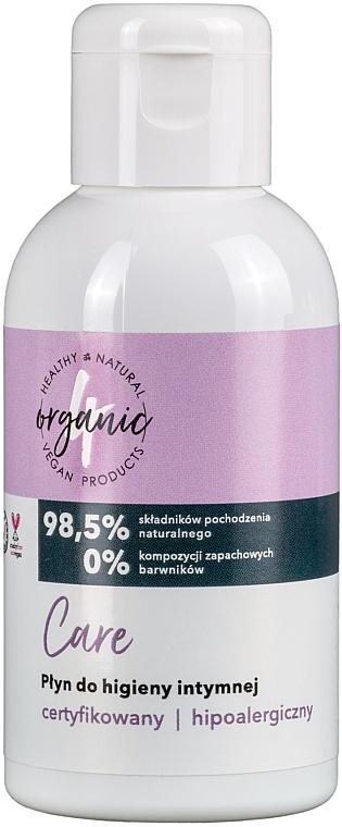 Intimate Wash - 4Organic Care Intimate Gel
