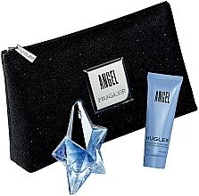 Fragrances, Perfumes, Cosmetics Mugler Angel - Set (edp/25ml + b/lot/50ml + bag)