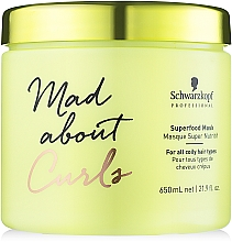 Mask for Very Curly Hair - Schwarzkopf Professional Mad About Curls Superfood Mask — photo N1
