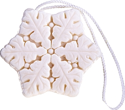 "Fragrances, Perfumes, Cosmetics Natural Candle ""Snowflake"" - Lalka"