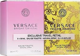 Fragrances, Perfumes, Cosmetics Versace Bright Crystal - Set (edt/30ml + edt/30ml)
