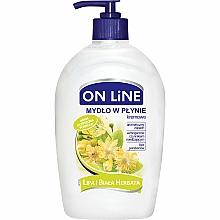 "Fragrances, Perfumes, Cosmetics Liquid Soap with Dispenser ""Linden and White Tea"" - On Line Liquid Soap"