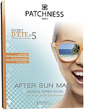 Fragrances, Perfumes, Cosmetics Ultra Moisturizing After Sun Face Mask - Patchness Mask After Sun
