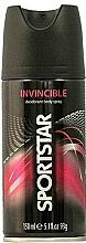 "Fragrances, Perfumes, Cosmetics ""Invisible"" Deodorant Body Spray - Sportstar Deo Body Spray Invicible"