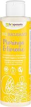 """Fragrances, Perfumes, Cosmetics Hair Balm """"Moringa & Lemon"""" - La Saponaria Bio Balsamo Moringa & Limone"""