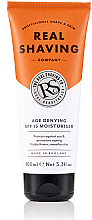 Fragrances, Perfumes, Cosmetics Moisturizing Anti-Wrinkle Cream - The Real Shaving Co. Age Denying SPF15 Moisturiser