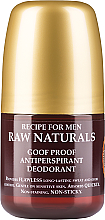 Fragrances, Perfumes, Cosmetics Deodorant - Recipe For Men RAW Naturals Goof Proof Antitranspirant Deodorant