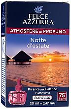 Fragrances, Perfumes, Cosmetics Electric Diffuser - Felce Azzurra Summer Night (refill)