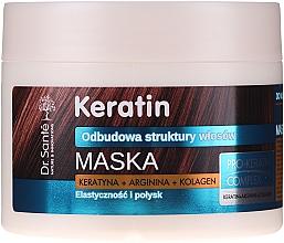 Fragrances, Perfumes, Cosmetics Dull & Brittle Hair Mask - Dr. Sante Keratin Mask