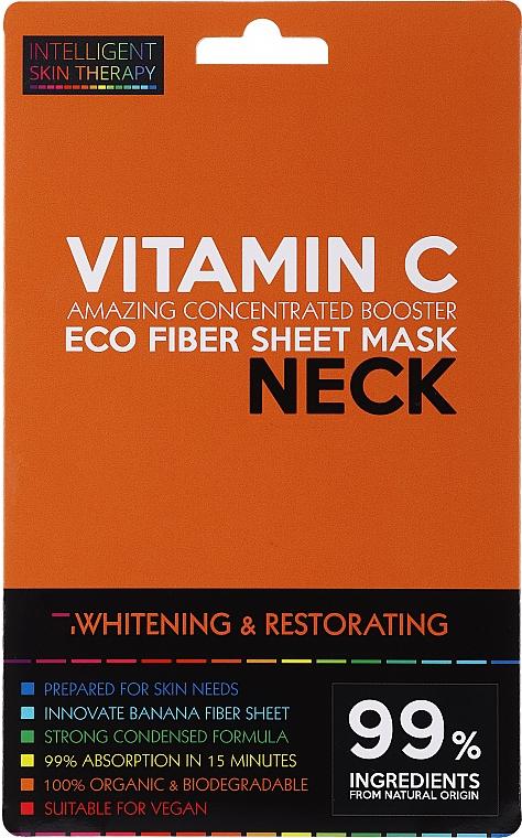 Express Neck Mask - Beauty Face IST Whitening & Restorating Neck Mask Vitamin C
