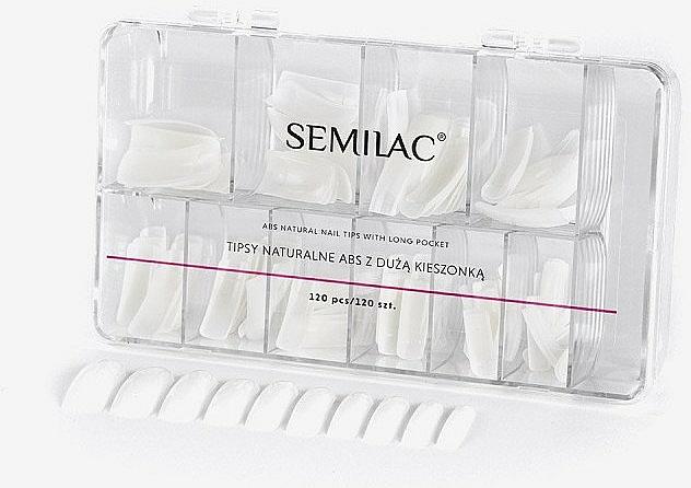 Natural Tips - Semilac Natural Tips Box