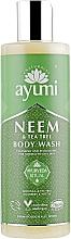 "Fragrances, Perfumes, Cosmetics Shower Gel ""Neem & Tea Tree"" - Ayumi Neem & Tea Tree Body Wash"
