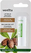 "Fragrances, Perfumes, Cosmetics Lip Balm ""Shea Butter + Cocoa Butter"" - Venita Lip Balm Shea Butter + Cocoa Butter"