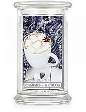 Fragrances, Perfumes, Cosmetics Scented Candle in a Jar - Kringle Candle Cashmere & Cocoa