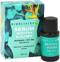 Fragrances, Perfumes, Cosmetics Biotin & Jojoba Hair Serum - Bioelixire Serum Biotin & Jojoba