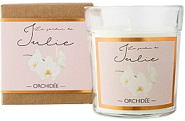 Fragrances, Perfumes, Cosmetics Orchid Scented Candle - Ambientair Le Jardin de Julie Orchidee