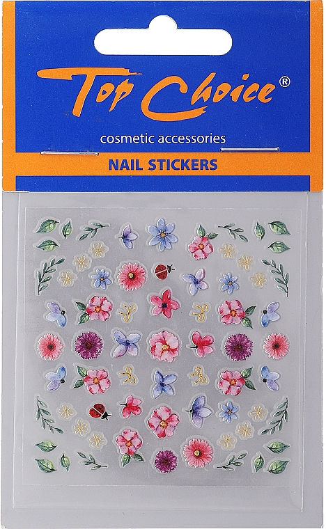 Nail Stickers, 77975 - Top Choice Nail Stickers — photo N1