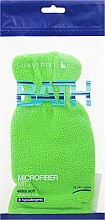 Fragrances, Perfumes, Cosmetics Bath Sponge Glove, light green - Suavipiel Bath Micro Fiber Mitt Extra Soft