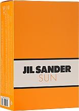 Fragrances, Perfumes, Cosmetics Jil Sander Sun - Set (edt/75ml + sh/gel/75ml)