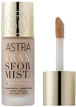 Fragrances, Perfumes, Cosmetics Foundation + Concealer - Astra Transformist Foundation + Concealer