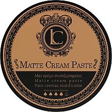 Fragrances, Perfumes, Cosmetics Men Strong Hold Matte Paste - Lavish Care Matte Cream Paste