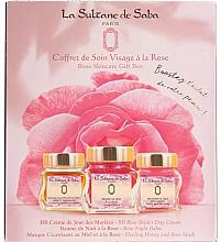Fragrances, Perfumes, Cosmetics Set - La Sultane de Saba Rose (f/balm/50ml + f/cr/50ml + f/mask/50ml)