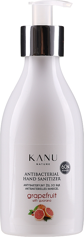 "Antibacterial Gel ""Grapefruit & Guarana"" - Kanu Nature Antibacterial Hand Sanitizer"