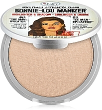 Fragrances, Perfumes, Cosmetics Highlighter, Shimmer and Shadow - theBalm Bonnie-Lou Manizer Highlighter & Shadow