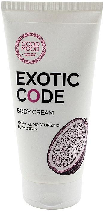 Moisturizing Body Cream for Dry & Normal Skin - Good Mood Exotic Code Body Cream — photo N1