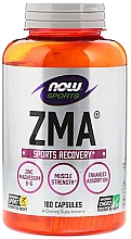 "Fragrances, Perfumes, Cosmetics Capsules ""ZMA Sports Recovery"" - Now Foods ZMA Sports Recovery Capsules"