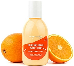 Fragrances, Perfumes, Cosmetics Shower Gel with Orange Oil and Black Currant Extract - Uoga Uoga Shower Gel
