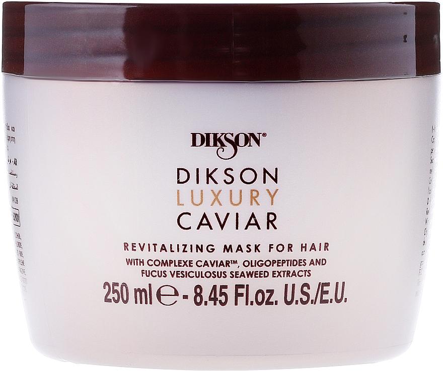 Revitalizing Hair Mask - Dikson Luxury Caviar Revitalizing Mask For Hair