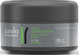 Fragrances, Perfumes, Cosmetics Hair Styling Paste - Londa Professional Men Change Over Remoldable Past
